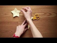 (78) Decorazioni con la carta: come fare una stella - YouTube