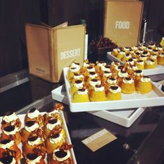 The crowd favorite! Chilean Olive Oil Cake with Marscapone and Almond brittle by Chef Kate of @DeliNYC
