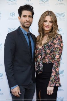 "#StanaKatic & #RazaJaffrey at ""The Rendezvous"" premiere at Mill Valley Film Festival (2016)"