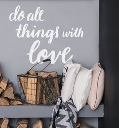 Add some positive energy to your space with this reminder! Silence Is Better, Entry Hallway, Love Wall, Wall Bar, Rustic Wood Signs, Painted Paper, Hallway Decorating, All Things, Things To Sell
