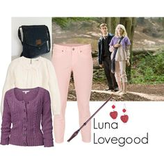 """""""Luna Lovegood"""" by ansleyclaire on Polyvore"""