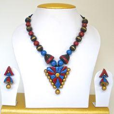 trendy terracotta earrings
