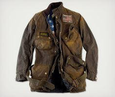Only 800 bucks! Heck, I'll buy two! Barbour Steve McQueen Style Rexton Jacket | Cool Material