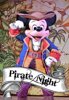 You can expect some one of a kind experiences when you take a Disney Cruise. One thing you will be able to enjoy ONLY on a Disney Cruise is Pirate Night.  Pirate night on a Disney Cruise is a themed evening when you will be able to let your inner pirate out by dressing up,  feasting on pirate food, partying with pirates and seeing an amazing fireworks show over the ship. via @disneyinsider
