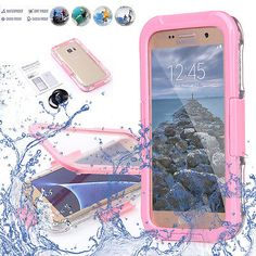 Pink Waterproof Shockproof Heavy Duty Swimming Case Cover for Samsung Galaxy S7 - http://phones.goshoppins.com/phones-cases/pink-waterproof-shockproof-heavy-duty-swimming-case-cover-for-samsung-galaxy-s7/
