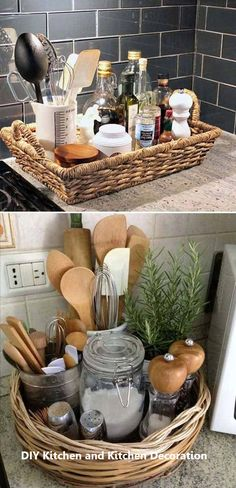 Best 21 Great Ideas About Clutter_Free Kitchen Countertops - Home Decor - . - Best 21 Great Ideas About Clutter_Free Kitchen Countertops – Home Decor – - Diy Home Decor Projects, Easy Home Decor, Cheap Home Decor, House Projects, Sweet Home, Kitchen Countertops, Kitchen Cabinets, Kitchen Backsplash, Quartz Countertops