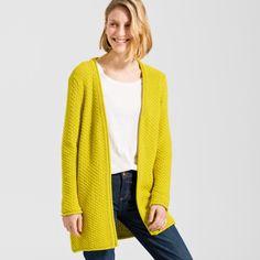 ARMEDANGELS | Gelja Cardigan Solid  - yellow