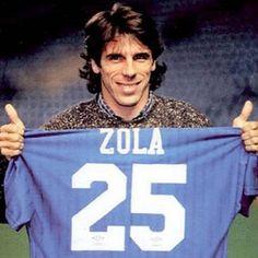 Nostalgic 90's - Gianfranco Zola #zola #gianfrancozola #chelseafc #cfc #chelsea #theblues #stamfordbridge #chelseashirt #premierleague #premiership #90sfootball #soccer #football #footballshirt #soccerjersey