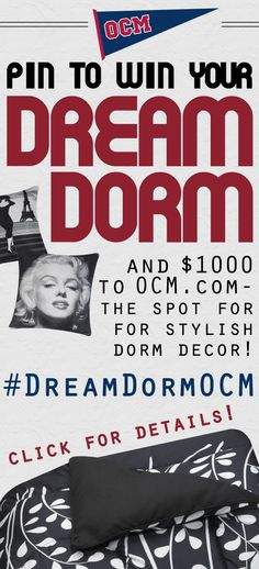 Dream Dorm Design Contest with OCM and Her Campus!