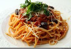 Spaghetti and Meat Sauce Recipe By Miss Robbie