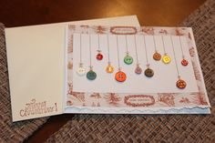 10 hand made Christmas Cards that look like hangin by mrrudy, $22.00