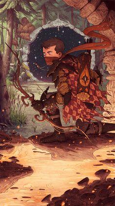 Оригинальная иллюстрация Мэтта Рокфеллера