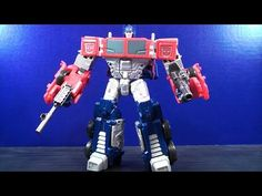 TRANSFORMERS COMBINER WARS VOYAGER CLASS OPTIMUS PRIME TOY REVIEW