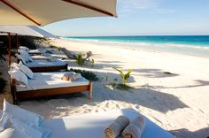 Private and Luxurious Waterfront Villa - Tulum Beach Bedding, Tulum Mexico, Vacation Home Rentals, Beach Bars, Find Picture, Outdoor Areas, Places To Go, Photo Galleries, Villa