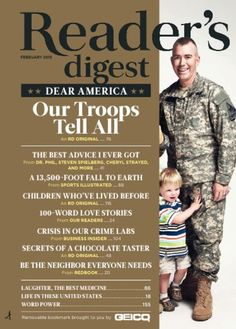 Reader's Digest Magazine Subscription, 10 Digital Issues| Zinio - The World's Largest Newsstand