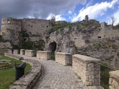 the castle of Gerace, Italy. 38°16′00″N 16°13′00″E