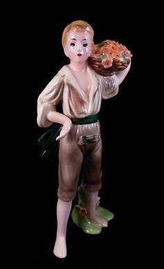 Josef Originals figurine. Antonia, from the Italian Provincial series.