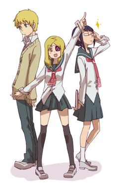 Justin Law Miss Marie (Marie Mjolnir) Azusa Yumi as kids