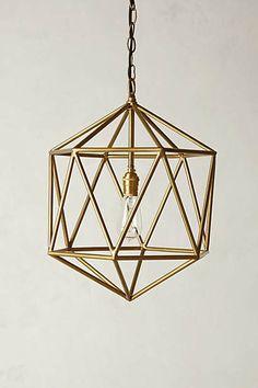 """Euclidean Pendant 19""""H, 14"""" diameter $248"""