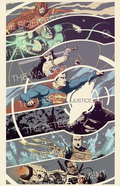 Justice League fan art