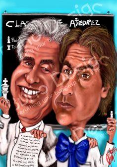 Caricatura Tabare Vázquez y Luis lacalle Pou By Búho Design & Caricatiras Uruguay  http://www.buhodesign.com.uy/ http://www.caricaturasuruguay.com.uy/
