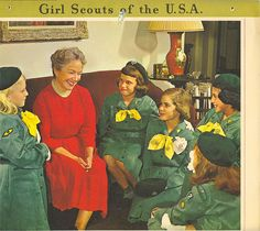 Vintage Girl Scouts of the U.S.A. photo