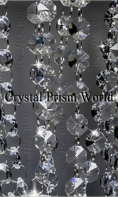 Clear Crystal Beads For Gril Clear Chandelier Bead Lamp Chain For Wedding Party Tree Garlands Decoration Diy Jewelry Making Tools & Accessories