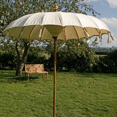Indonesian Parasol - Luxury garden parasol of real beauty