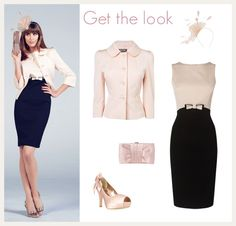 Darcy Grosgrain Bow Dress, Darcy Fine Ottoman Jacket, Hope Bow Platform Peep Toe Shoes, Yasmin Satin Clutch Bag and Hayden Fascinator  by Phase Eight