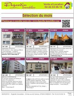 Couverture du catalogue d'annonces immobilières Juin 2016