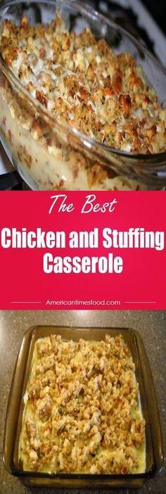 Chicken and Stuffing Casserole!