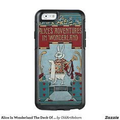 Alice In Wonderland The Deck Of Cards OtterBox iPhone 6/6s Case