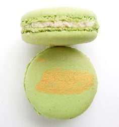 Apple Pie Macaron Filled with Apple Butter Cream