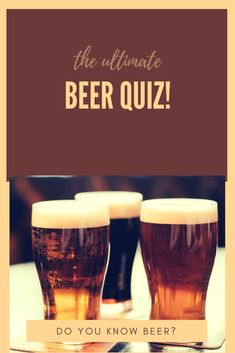 31 Best Beer Trivia images in 2014 | Alcohol, All beer, Best