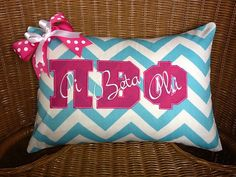 I want to make a pillow like this with Phi Beta Chi on it