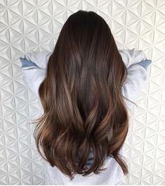 Brunette Hair.