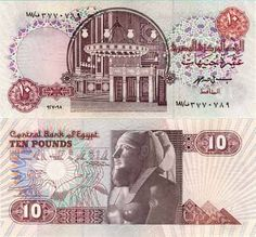 Banknote World maintains the educational website, providing background information and images on thousands of banknotes. Egypt Wallpaper, Egyptian Beauty, Old Money, Old Newspaper, Vintage World Maps, Things To Come, History, Banknote, 10 Pounds