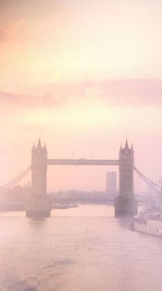 Soft tone ~ Tower Bridge, London Via: michaelaliano