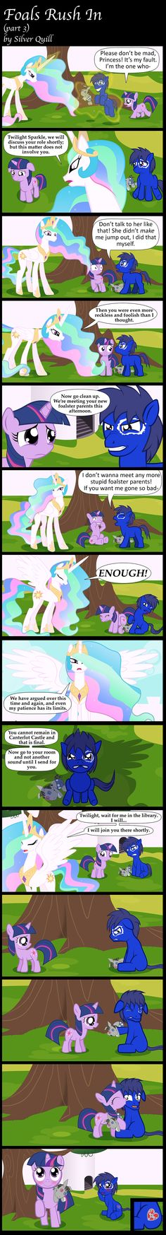 Foals Rush In (part 3) by MLP-Silver-Quill.deviantart.com on @deviantART