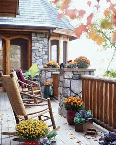 12 cozy porches decked out for fall | Living the Country Life