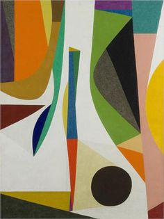 'Up Within' by Frederick Hammersley, 1958.