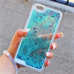 Imagem de blue, case, and iphone