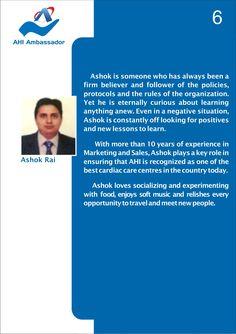 Ashok Rai, Marketing and Sales