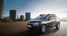 Renault Duster in the city