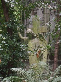 Highgate Cemetery London.