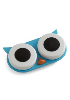 I See Whoo Contact Case by Kikkerland - Travel, Multi, Red, Green, Blue, Best Seller, Best Seller, Travel, Holiday Sale, Top Rated