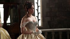 once upon a time regina wedding dress | Once Upon a Time': Rose McGowan Previews Young Cora's Entry Into the ...