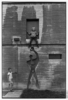 El Modulor en La Unidad de Habitación en Nantes. Exposición Le Corbusier: Medidas Humanas, en el Centro Pompidou. Fotografía © J. Ach © FLC, ADAGP, Paris 2015. Imagen cortesía del Centro Pompidou.