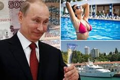 WHEN he is not taunting NATO with World War Vladimir Putin likes to live life large in luxury. United Russia, Current President, Vladimir Putin, Presidents, The Unit, Image