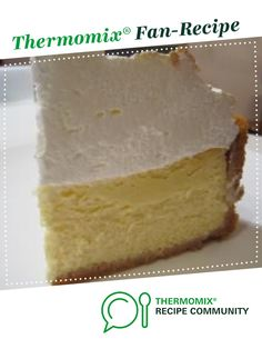 Recipe Lemon Meringue Cheesecake by learn to make this recipe easily in your kitchen machine and discover other Thermomix recipes in Desserts & sweets. Lemon Meringue Cheesecake, Cheesecake Recipes, Thermomix Desserts, Jelly Roll Pan, Some Recipe, Sweets Recipes, Food Items, No Cook Meals, Lemon Cakes